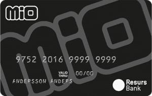 Mio kreditkort